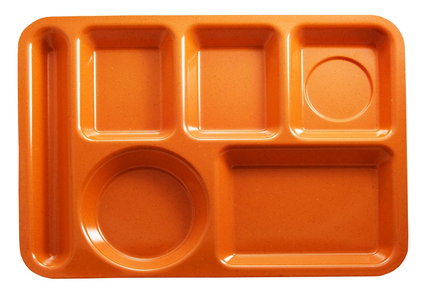 School Lunches - Jessica Harper Empty Food Tray Clipart