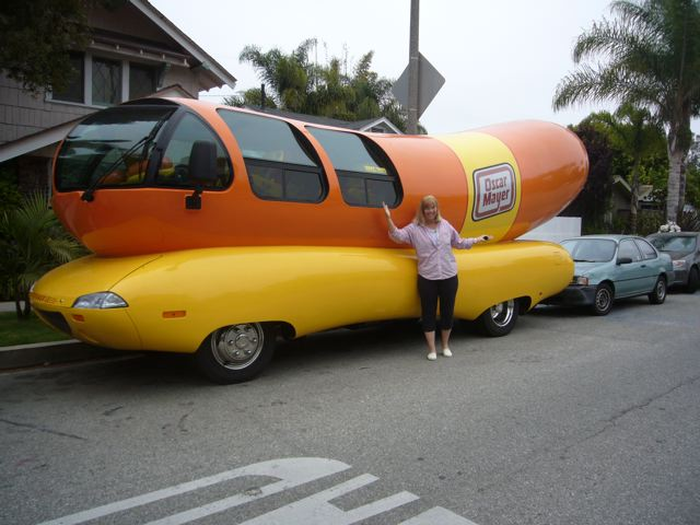 Hannah And Weinermobile